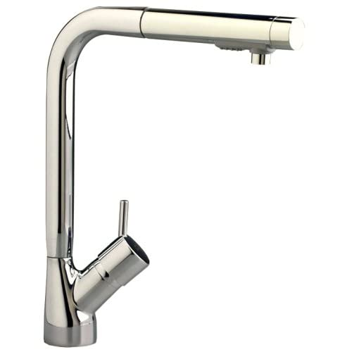 Cyber Monday Deals American Standard 4147.100.075 Culinaire Single-Control Kitchen Faucet with Pull Out Spray, Stainless Steel