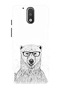 Noise Designer Printed Case / Cover for Moto G4 (4th Generation) / Comics & Cartoons / Geek Bear