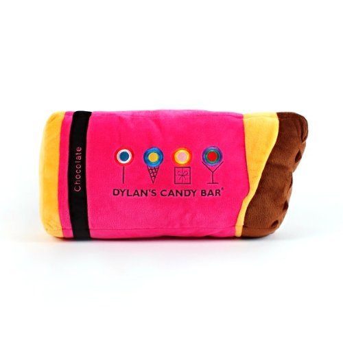 Dylan's Candy Bar Pink Chocolate Bar Pillow
