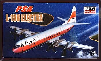 Buy Lockheed L188 PSA Electra 1-144 by Minicraft