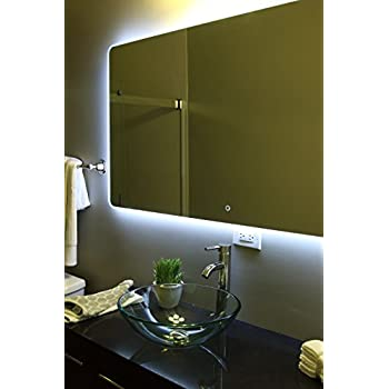 Windbay Backlit Led Light Bathroom Vanity Sink Mirror. Illuminated Mirror. (36