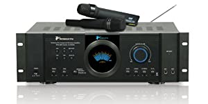 Technical Pro IAW852 Integrated Amplifier with Dual Wireless Mics