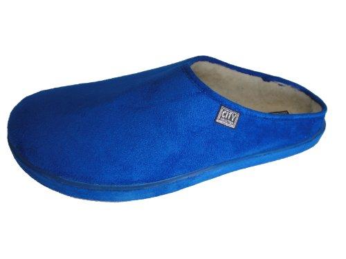 Cheap Andres Machado Women's Blue Scandinavians Slippers Big Size Shoes (27001BAMARAAZULON6)
