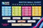 2015 Rugby World Cup Fixtures Wall Po...