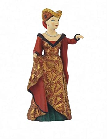 Papo - 39392 - Figurine - Dame à La Licorne - Rouge