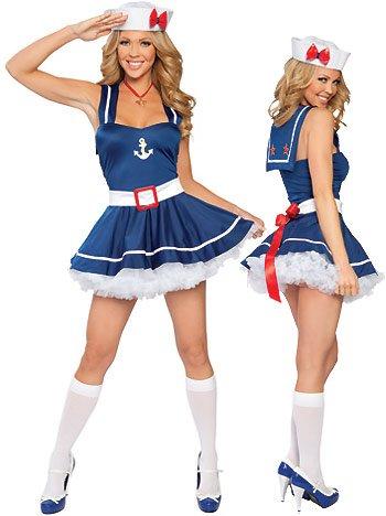 Sweetheart Sailor - Women's Sailor Sexy Halloween Costumes Uniforms