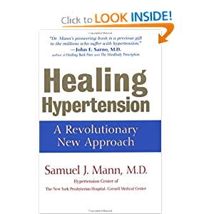 Click to buy Healthy Blood Pressure: Healing Hypertension: A Revolutionary New Approach from Amazon!