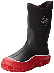 MuckBoots Hale Boot,Black/Red,6 M US Big Kid