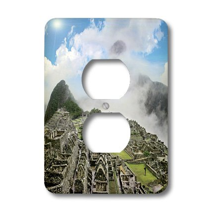 Lsp_87071_6 Danita Delimont - Machu Picchu - Peru, Machu Picchu, Ancient City Of The Inca - Sa17 Mgl0028 - Miva Stock - Light Switch Covers - 2 Plug Outlet Cover