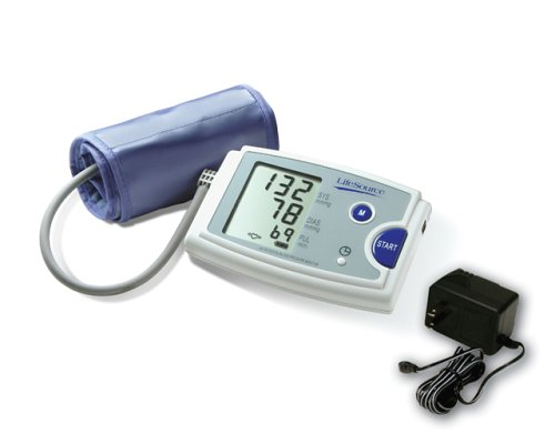 Cheap LifeSource UA-787AC Quick Response Auto Inflate Blood Pressure Monitor with EasyCuff and AC Adapter (UA-787AC)