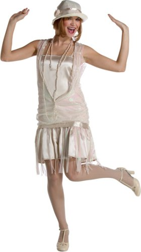 Women's Ivory Gatsby Halloween Costume