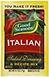 Good Seasons Italian Salad Dressing & Recipe Mix 0.7 oz. Pouch (Total of 10 Pouches)