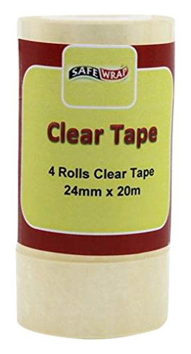safewrap-24-mm-x-20-m-clear-tape-pack-of-4