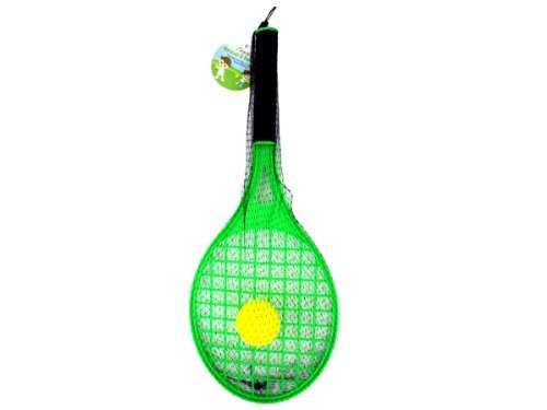 Toy tennis racket with foam ball-Package Quantity,36 by bulk buys