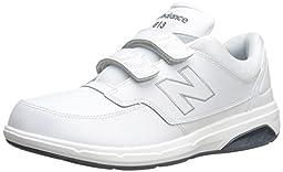 New Balance Men\'s MW813V1 Walking Shoe, White, 10.5 2E US