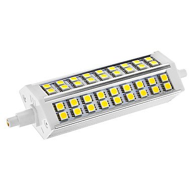 Rayshop - Dimmable R7S 11W 54X5050Smd 650Lm 6000-6500K Cool White Light Led Corn Bulb(Ac 110-130V)