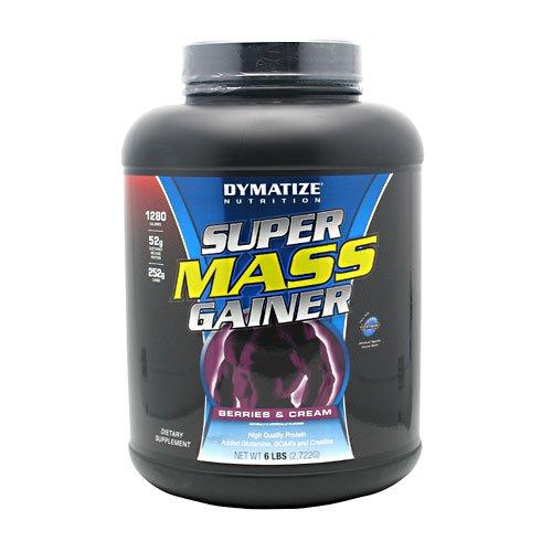 Dymatize Nutrition Super Mass Gainer, Strawberry, 6-Pound