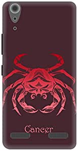 The Racoon Grip Cancer hard plastic printed back case / cover for Lenovo A6000 Plus
