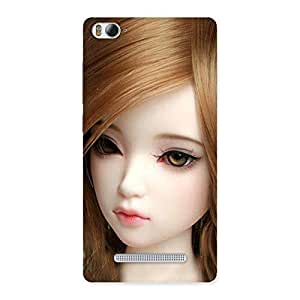 Cute Lovely Doll Multicolor Back Case Cover for Xiaomi Mi4i