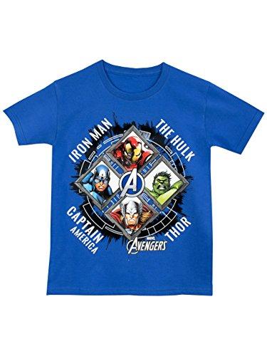 Avengers - Maglietta a maniche corta Ragazzi - Avengers - 9 a 11 Anni