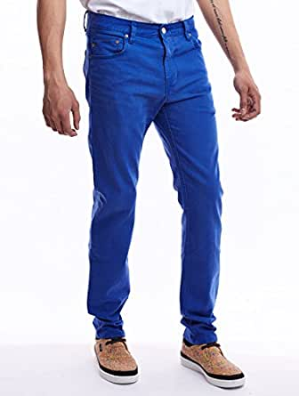 Jeans Eddy 5 Pocket Bright Blue WeSC W32 Homme