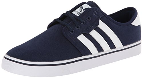 Adidas Originals Men's Seeley Lace Up Shoe, Collegiate Navy/White/Collegiate Navy, 10.5 M US