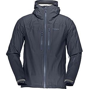 NORRONA(ノローナ) Bitihorn Dri1 Jacket Men\'s 4304-12 Cool Black/Bedrock S