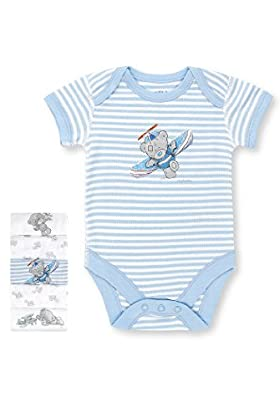 5 Pack Pure Cotton Tatty Teddy &amp; Plane Print Bodysuits