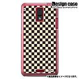 HTC J ISW13HTハード ケース カバー ジャケット/1132_チェック小柄クリームベージュ/CR