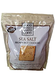 Food Should Taste Good Brown Rice Crackers - Gluten Free & Kosher - 20oz