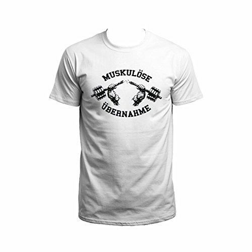 Bosshaft-Muskulse-bernahme-T-Shirt-wei