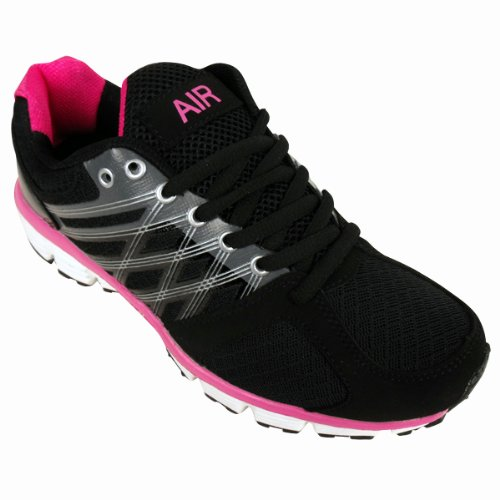 Womens Shock Absorbing Running Trainers Jogging