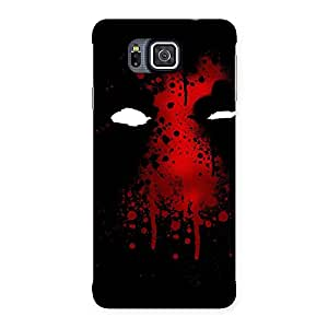 Red Horror Back Case Cover for Galaxy Alpha
