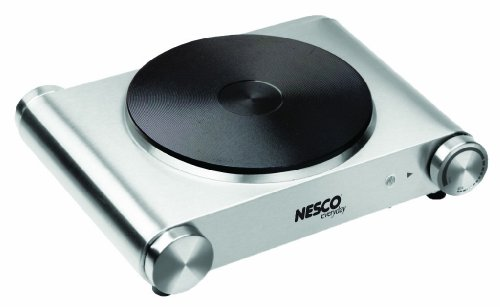 Nesco SB-01 Stainless Steel Electric Burner, 1500-watt (Electric Ceramic Burner compare prices)