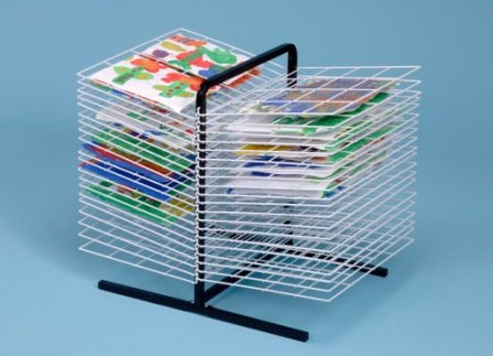 40 Shelf Table Top Drying Rack / Childrens Paint Dryer-A1165