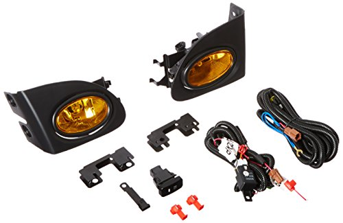 Spec-D Tuning LF-CV023AMOEM-HZ For Honda Civic Si 3DR Amber Lens OEM Style Fog Lights+Bulbs+Switch (2003 Honda Civic Si Ep3 Parts compare prices)