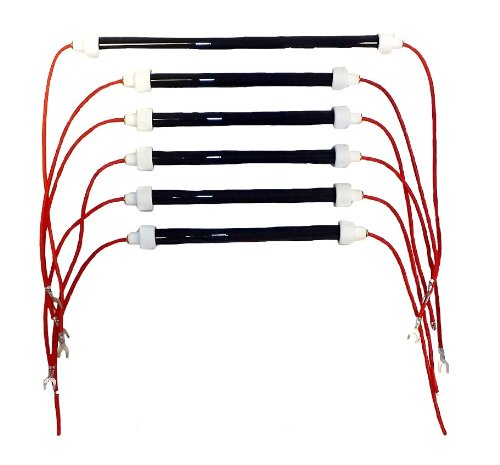 EdenPURE original style heating elements complete set for 6 element heaters (1500 Watt). Models listed below. AirnMore is a recognized service center (Gen4 Heating Elements compare prices)