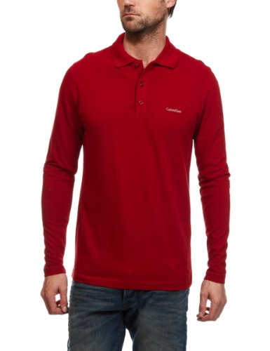 Calvin Klein Long Sleeve Polo Men's Top