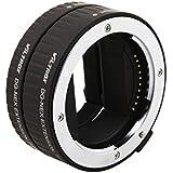 Viltrox Macro Bague-allonge automatiques professionnelles (2 pièces : 10 mm 16 mm) pour Sony NEX, sony nex 3N, sony nex 6, sony nex 5t, sony nex 3, sony nex 5, sony nex 7 etc.