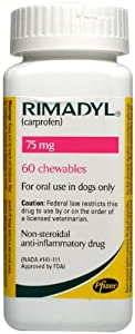 Rimadyl Chewables - 75 mg - 60 count
