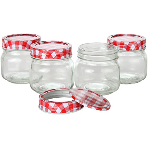 top best 5 jelly jars 8 oz for sale 2016 product boomsbeat. Black Bedroom Furniture Sets. Home Design Ideas