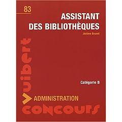 Assistant des bibliothèques 41DCxhAUi3L._AA240_