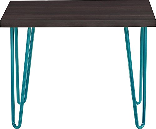 Altra Owen Retro Stool Espresso Teal Furniture Table