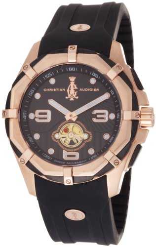 Christian Audigier Men's LE-ROSE Limited Edition Rose Gold 2010 Watch: Watches