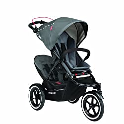 phil&teds Navigator Buggy with Second Seat Graphite