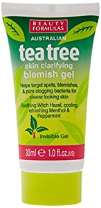 Beauty Formulas Blemish Gel Tea Tree, 30ml
