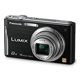 Panasonic DMC-FH25 16.1MP Digital Camera (Black)