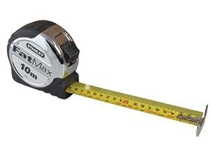 Stanley Tools 033897 FatMax Tape Measure 10m (Width 32mm)