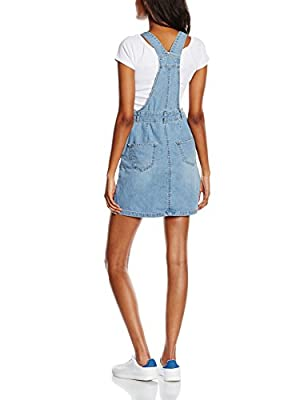 New Look Women's Rain Denim Pinny Dress