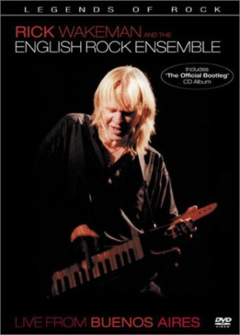 Rick Wakeman and the English Rock Ensemble - Live from Buenos Aires (DVD + CD)